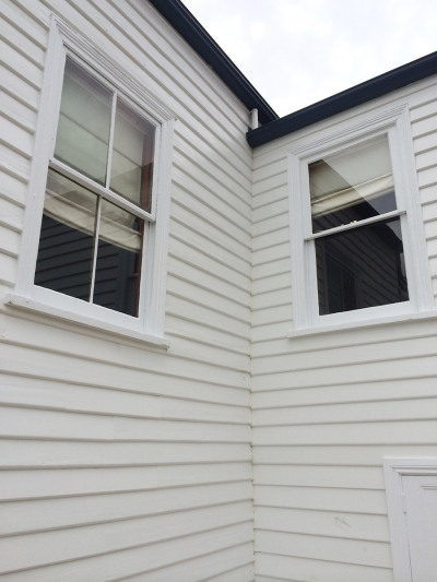 weatherboard exterior painting